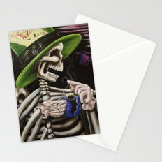 Skeleton Tea Party Stationery Cards