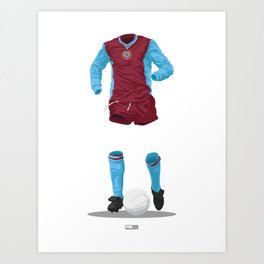 Aston Villa 1981/82 - European Cup Winners  Art Print