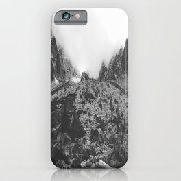 Mountain Lakes and Dreams iPhone Case