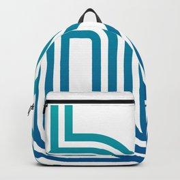 HELLO typography Backpack