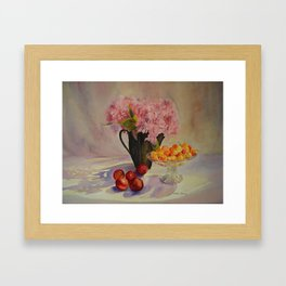 A touch of Summer Framed Art Print