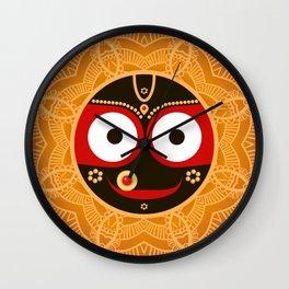 Lord Jagannatha. Wall Clock