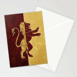 Gryffindor Stationery Cards