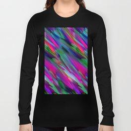 Colorful digital art splashing G400 Long Sleeve T-shirt