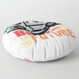 Back to the future: Delorean Floor Pillow