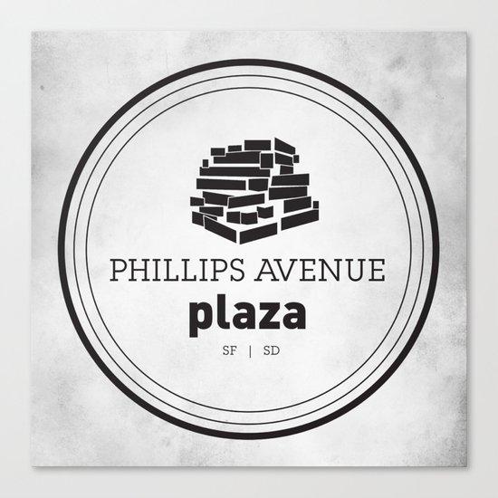 Phillips Avenue Plaza Canvas Print