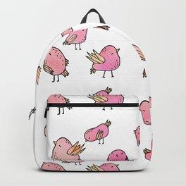Flock Of Birds - Pink Backpack
