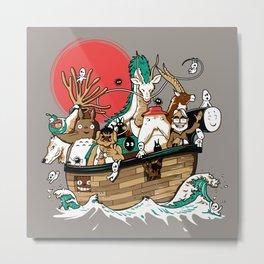 Miyazaki's ark Metal Print