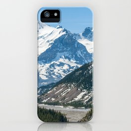 Stream along Icefields Parkway Highway 93 - Canada iPhone Case
