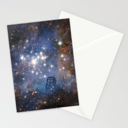 Adventures in Time and Space Stationery Cards