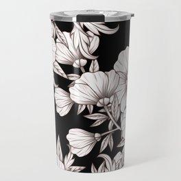 Midnight Blooms Travel Mug