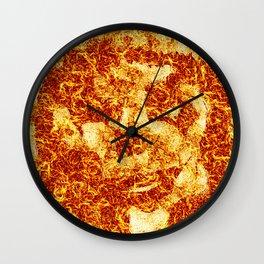 FIRE LOGO Wall Clock