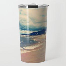 A Day At The Beach Travel Mug