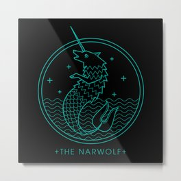 The Narwolf Metal Print