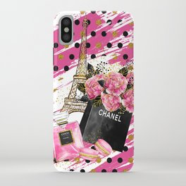 Fashion Paris #1 iPhone Case