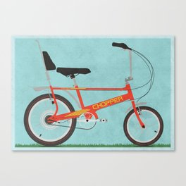 Chopper Bike Canvas Print