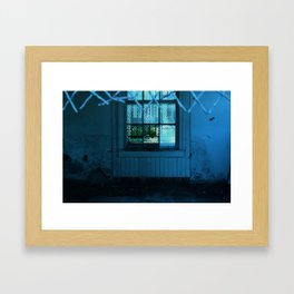 In the Window Framed Art Print