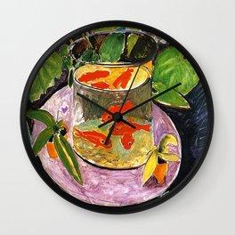 Henri Matisse Goldfish 1911 Wall Clock