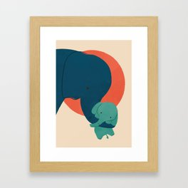 Baby Elephant 2 Framed Art Print