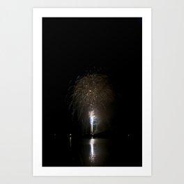 Fireworks make you wanna... (7) Art Print