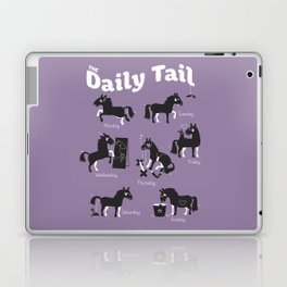 The Daily Tail Horse Laptop & iPad Skin