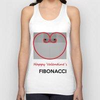 fibonacci Tank Tops featuring Happy Valentine´s Fibonacci by Solar Designs