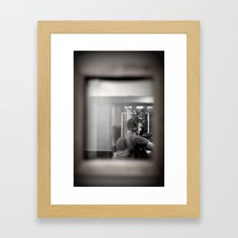 Recording in Capitol Records Framed Art Print