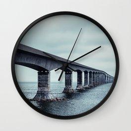 Confederation Bridge Wall Clock