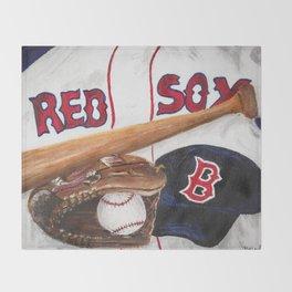 Redsox Throw Blanket