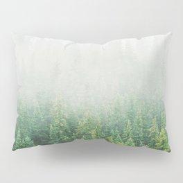 Misty Jasper Pine Forest Pillow Sham