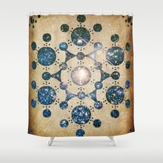 The Wiltshire Circle Shower Curtain
