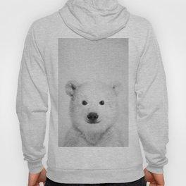 Polar Bear - Black & White Hoody