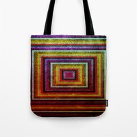 grunge Tote Bags featuring Grunge by Fine2art