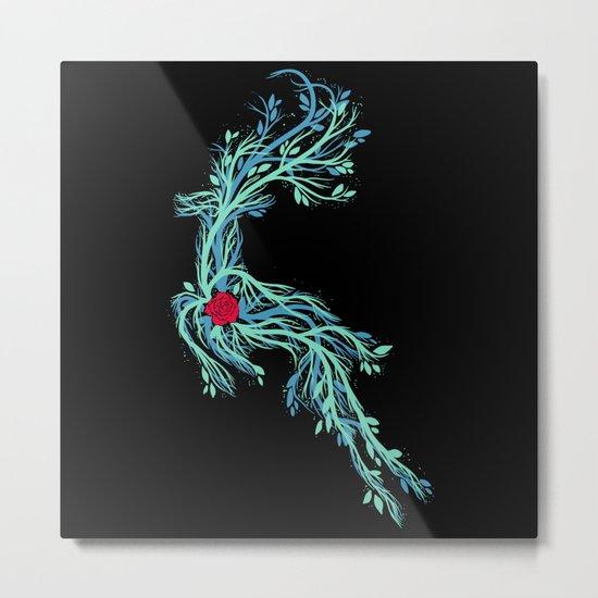 Spirit Vines Metal Print