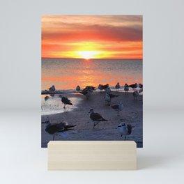 Shore Birds Mini Art Print