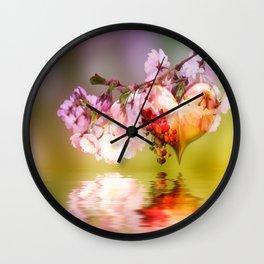 Frühlingsherz Wall Clock