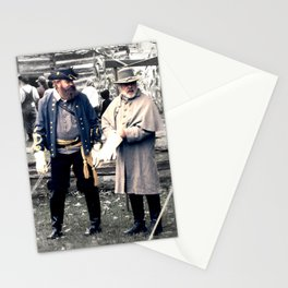 Civil War Reenactment Stationery Cards