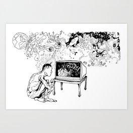 KABOOM! Art Print