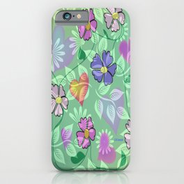 """ Flower Intertwine "" iPhone Case"