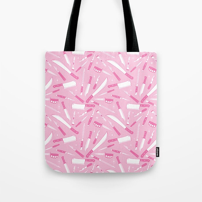 Gorgeous Knife Tote Bag