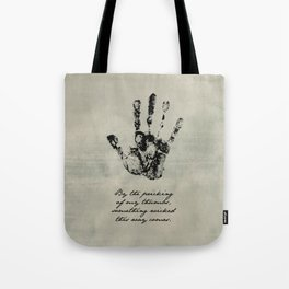 Shakespeare - Macbeth - Something Wicked This Way Comes Tote Bag