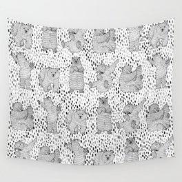 Lazy Bear Wall Tapestry