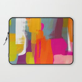 color study abstract art 2 Laptop Sleeve