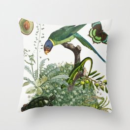 green by nature Throw Pillow