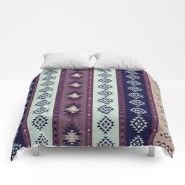 Mint and Purple Southwestern Blanket Comforters