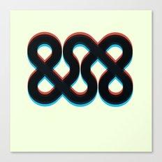 3d && Canvas Print