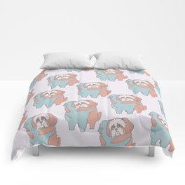 Shih Tzu Hugs Comforters