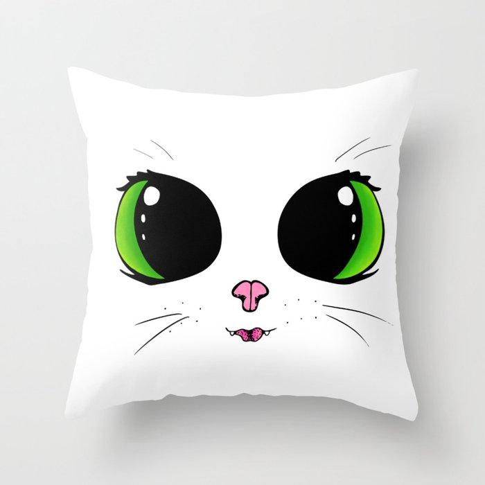 Blep Throw Pillow