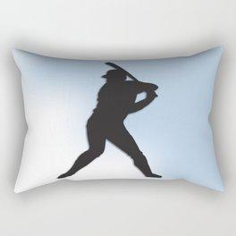 Batter Up Baseball Rectangular Pillow