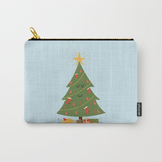 The Tree and the Cat Carry-All Pouch